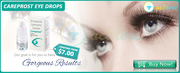 Make Eye Lashes Appealing With Careprost Eye Drop. Price $7